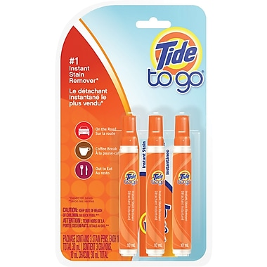Tide To Go Instant Stain Remover Pens, 3/Pack