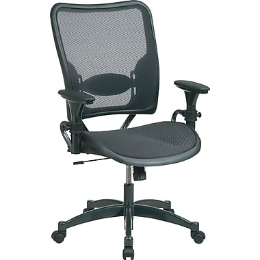 SPACE® Air Grid™ Professional Ergonomic Chair, Black
