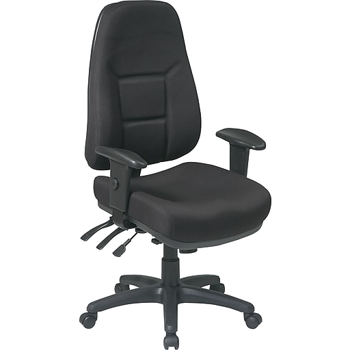 buy office star 2907 231 task chair black at staples com
