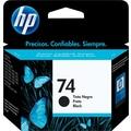 HP 74 Black Ink Cartridge (CB335WN)