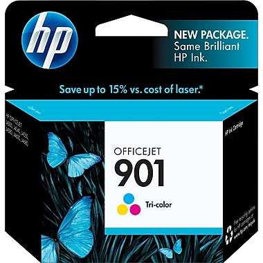 HP 901 Tricolor Ink Cartridge (CC656AN)