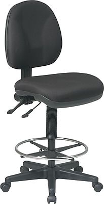 Deluxe Drafting Chair Ergonomic Black Expert Event