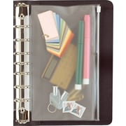 """Day-Timer® Zip Pouch, Size 5: 8 1/2"""" x 11"""", Clear, (D87319B)"""