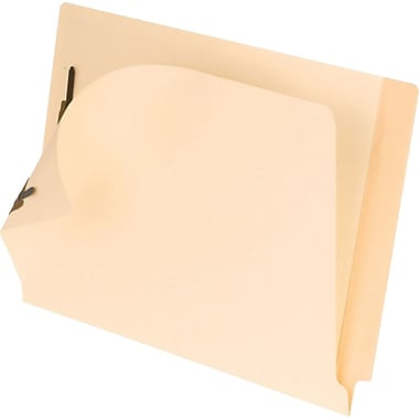 Pendaflex® End-Tab Laminated Folders, Letter, Full Tab with 2 Fasteners