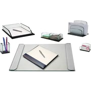 Storex® Onyx Glass Series Desk Collection