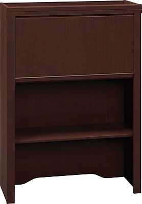 Bush Business Furniture Enterprise 30W Lateral File Hutch, Mocha Cherry (2955MC-03FA)