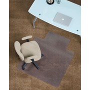 "Staples PlushMat Chairmat, Standard Lip, 45"" x 53"""