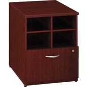 Bush Business Furniture Westfield 24W Storage Cabinet, Mahogany, Installed (WC36704FA)