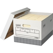 Staples® Triple Wall Storage Boxes