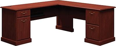 Bush Business Furniture Syndicate 72W x 72D L-Desk, Harvest Cherry (6310CS-03KFA)