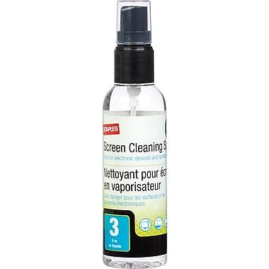 Staples® - Liquide nettoyant pour écran, 3 oz
