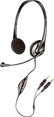 Plantronics® .Audio™ 326 Internet Headset, With Noise-Canceling Microphone
