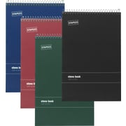 "Staples® Wirebound Steno Books, 6"" x 9"""