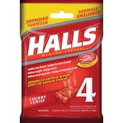 Halls Mentho-Lyptus Cough Tablets, Cherry, 4/Pack