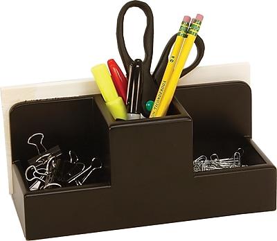 Staples Wood Desk Caddy, Black (MSC2-7901)