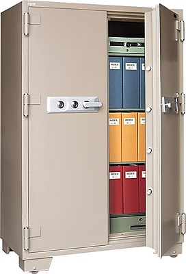 Mesa™ 20.7 Cubic Ft. Double Door Fire and Security Safe with Premium Delivery