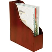 Staples MMH2-8002 Wood Desk Magazine File