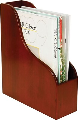 Staples MMH2-8002 Wood Desk Magazine File