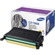 Samsung CLP-Y660B Yellow Toner Cartridge, High Yield