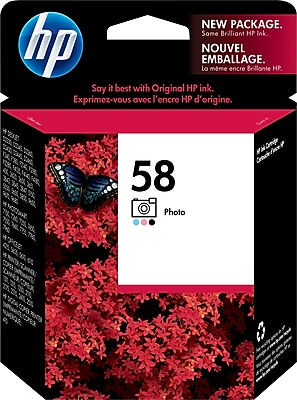 HP 58 Photo Ink Cartridge (C6658AN)