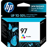 HP 97 Tri-Color Standard Yield Ink Cartridge (C9363WN#140)