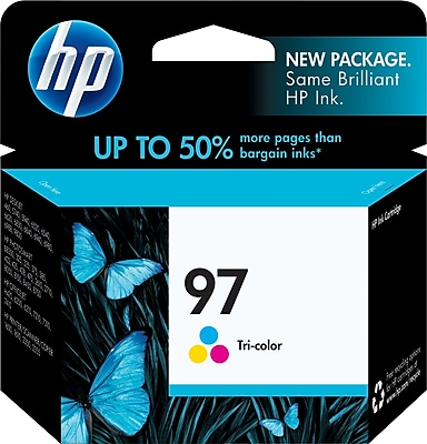 HP 97 Tri-Color Ink Cartridge (C9363WN)