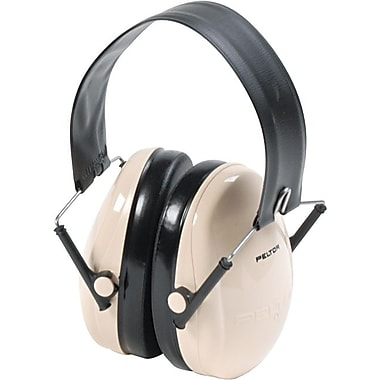 Peltor® Low Profile Folding Ear Muff, White, 95 dB