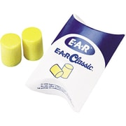 E-A-R® Classic™ Plus Ear Plugs in Pillow Pak™, 33 dB, 200 Pairs/Box
