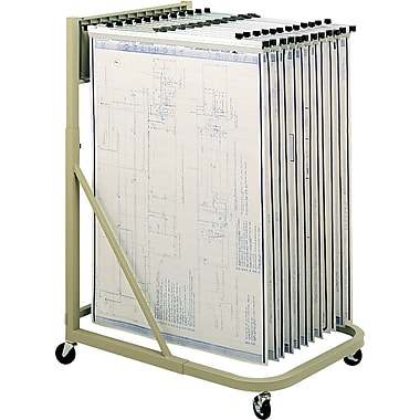 Safco® Mobile Vertical Filing Stand