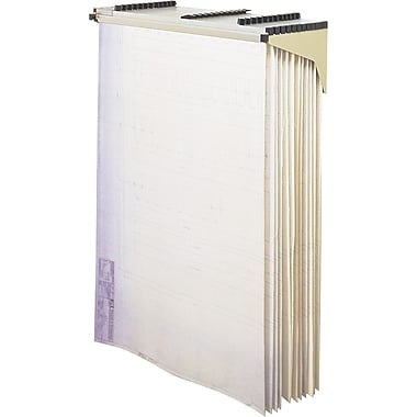Safco® Drop/Lift Wall Rack Filing System