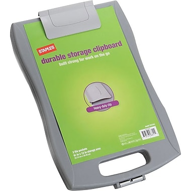 Staples® Durable Storage Letter Clipboard