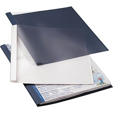 Fellowes Thermal Binding Presentation Covers, Letter, 1/16