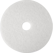 "3M White Super Polish Pad 4100, 16"", 5/Ct"