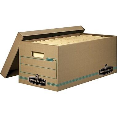 Bankers Box® – Boîtes de rangement Enviro Stor™, format lettre, paq./4