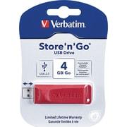 Verbatim® - Clé USB Store 'n' Go 4 Go
