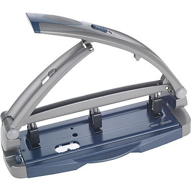 Staples 20268/14824 One-Touch Adjustable 3-Hole Punch, 40 Sheet Capacity