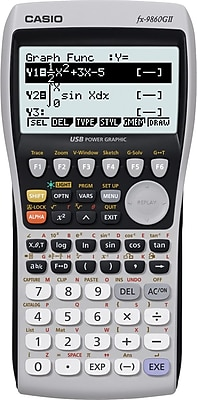 Casio Graphing Calculator (FX-9860GII)