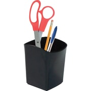 Staples® Value Pencil Cup, Black