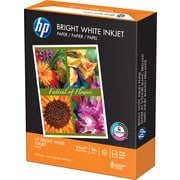 "HP Bright White Inkjet Paper, 8-1/2"" x 11"", Ream"