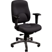 Staples® Verdesol Fabric Task Chair, Black