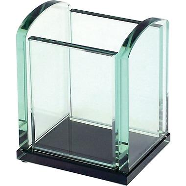 Storex® Onyx Glass Series Pencil Cup