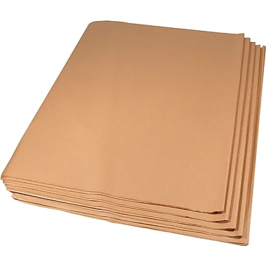 Solid Tissue Paper, Recycled Kraft, 15