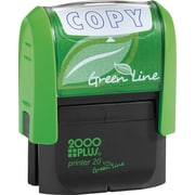2000 PLUS® Green Line Self-inking Stamp, Copy