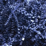 Staples Spring-Fill Crinkle Cut Shred, Navy Blue (C10NB)