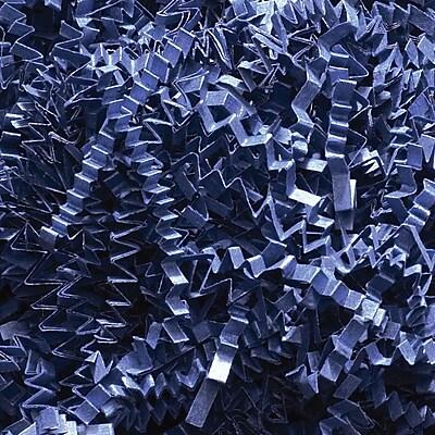 Staples Spring-Fill Crinkle Cut Shred, Navy Blue (C10NB)