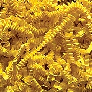 SI Products Spring-Fill Crinkle Cut Shred, 10 lbs., Yellow (C10YE)