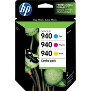 HP 940 C/M/Y Color Ink Cartridges (CN065FN), Combo 3/Pack