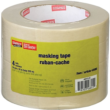 Staples® - ruban-cache, 24 mm x 55 m