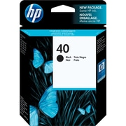 HP 40 Black Ink Cartridge (51640A)