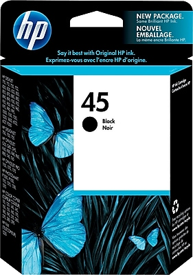 HP 45 Black Ink Cartridge (51645A)